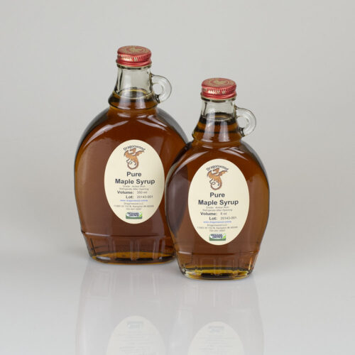 Pure Maple Syrup In Glass