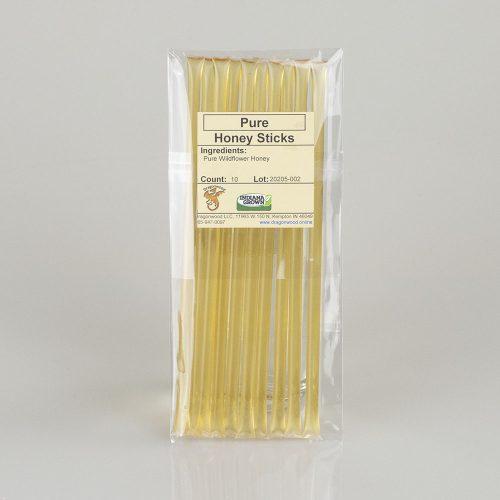 10 Pure Honey Sticks
