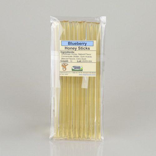 10 Blueberry Honey Sticks