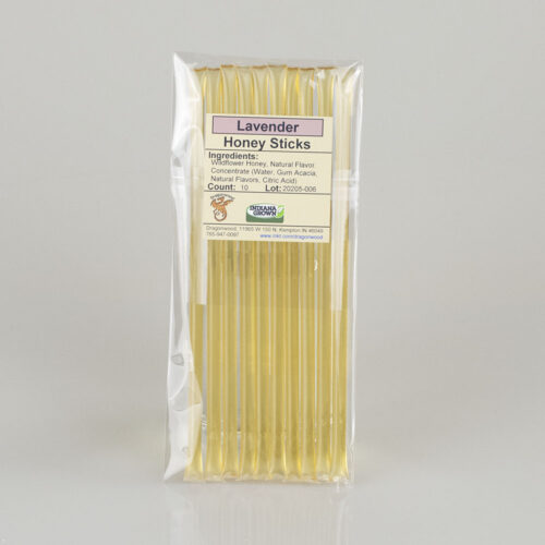 10 Lavender Honey Sticks