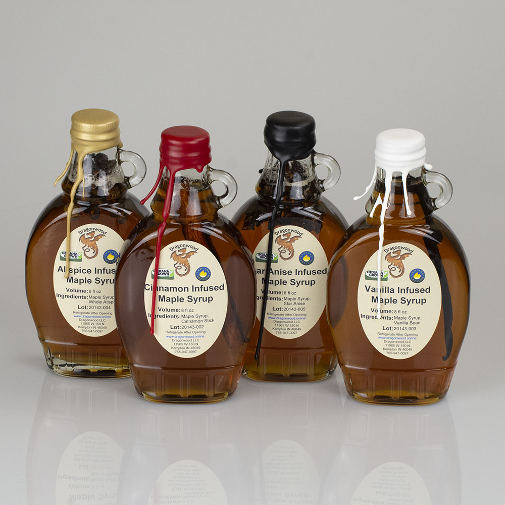 Spice Infused Maple Syrup
