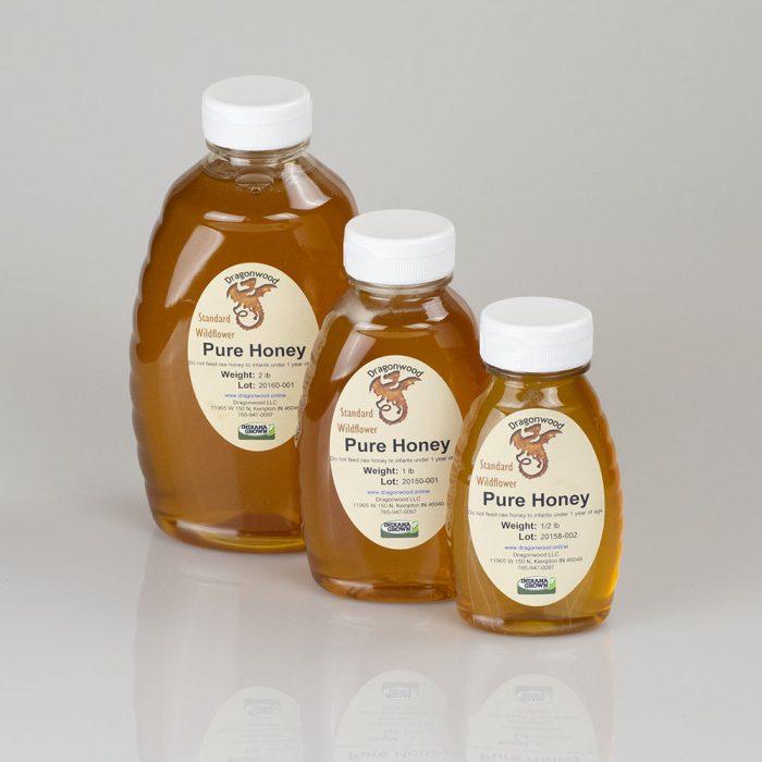 Pure Honey Squeeze Bottles