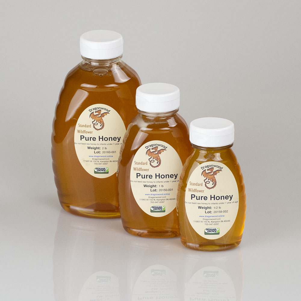 Pure Honey Squeeze Bottles