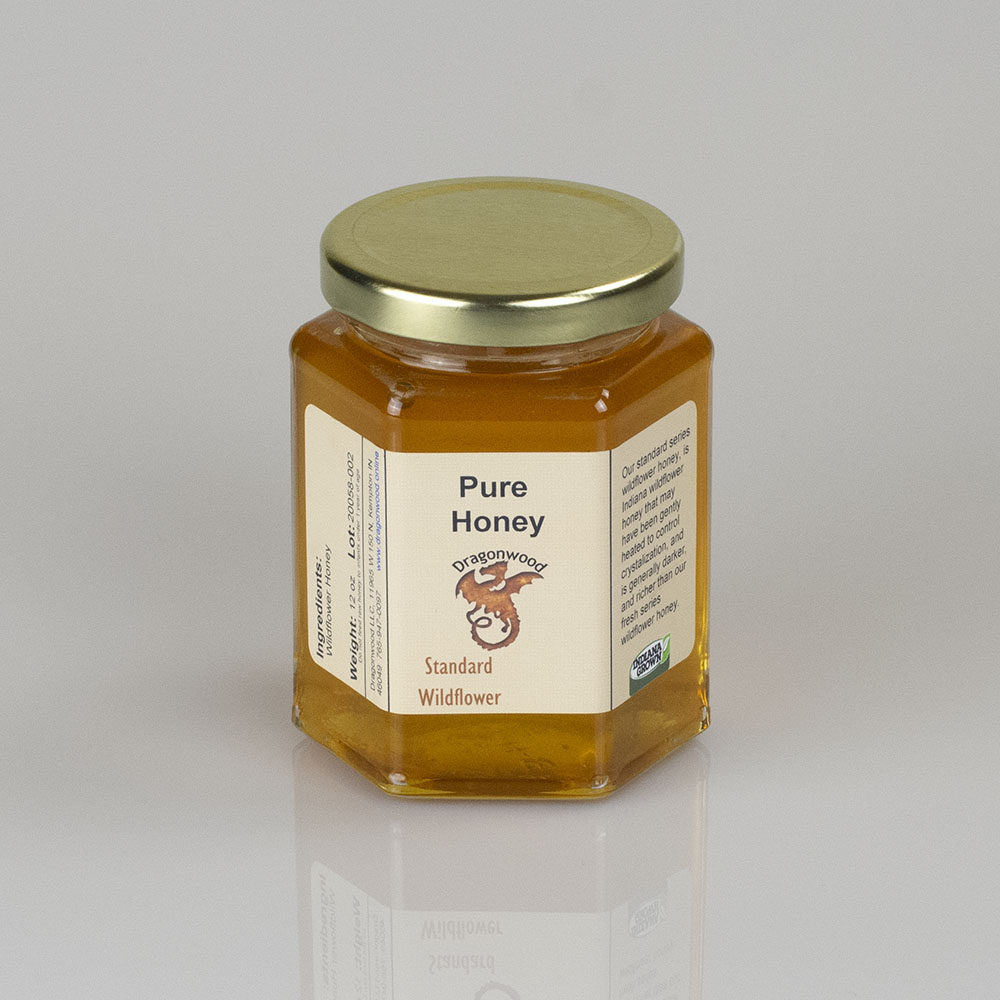 Pure Honey In Jar