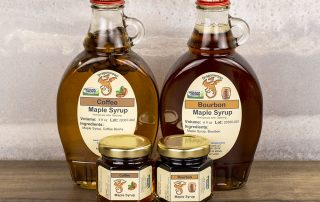 Bourbon And Coffee Maple Syrups