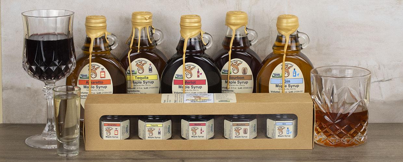 Boozy Maple Syrup