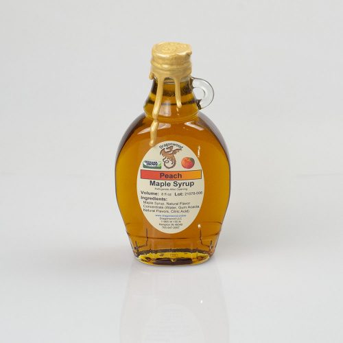 Peach Maple Syrup