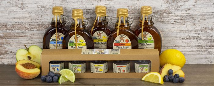 Fruity Maple Syrup Collection