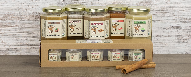 Spiced Creamed Honey