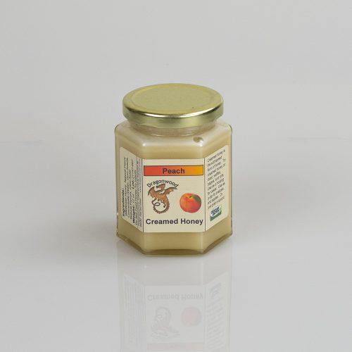 Peach Creamed Honey