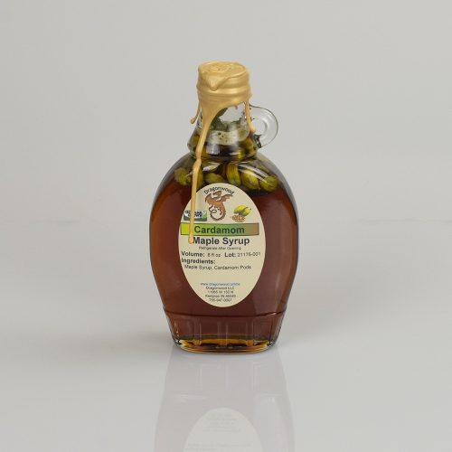 Cardamom Maple Syrup