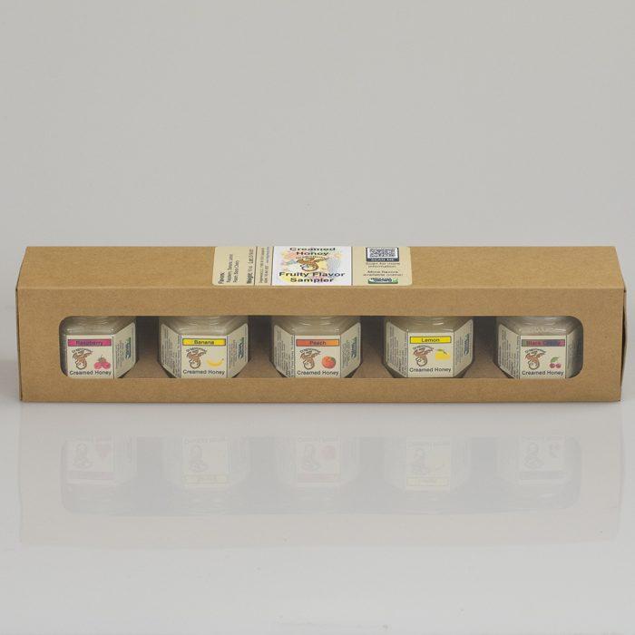 Fruity Creamed Honey Sampler